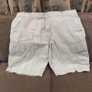 Men's cargo shorts.